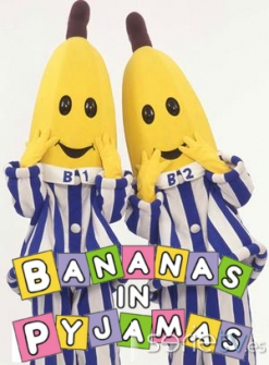serie de TV Bananas en pijamas